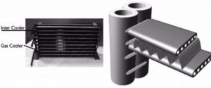 Carbon dioxide heat pump from condenser to gas cooler 4