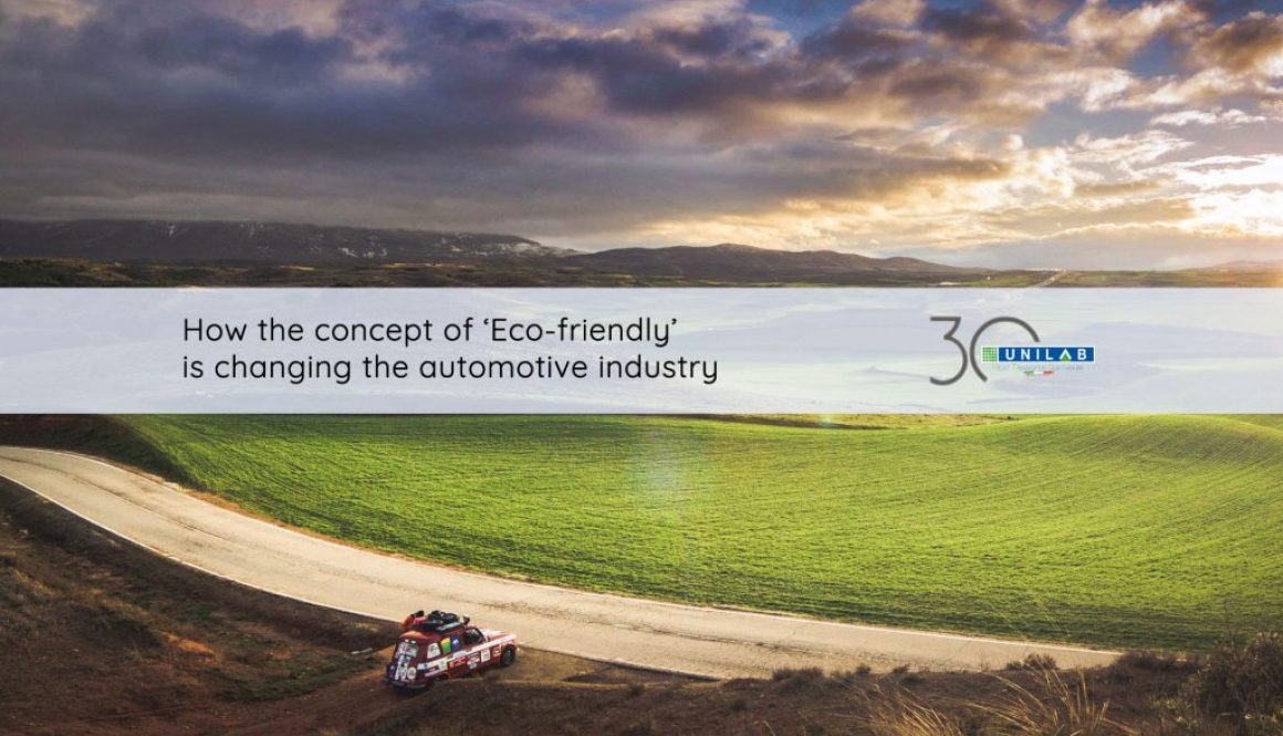 Concept of eco-friendly changing automotive industry