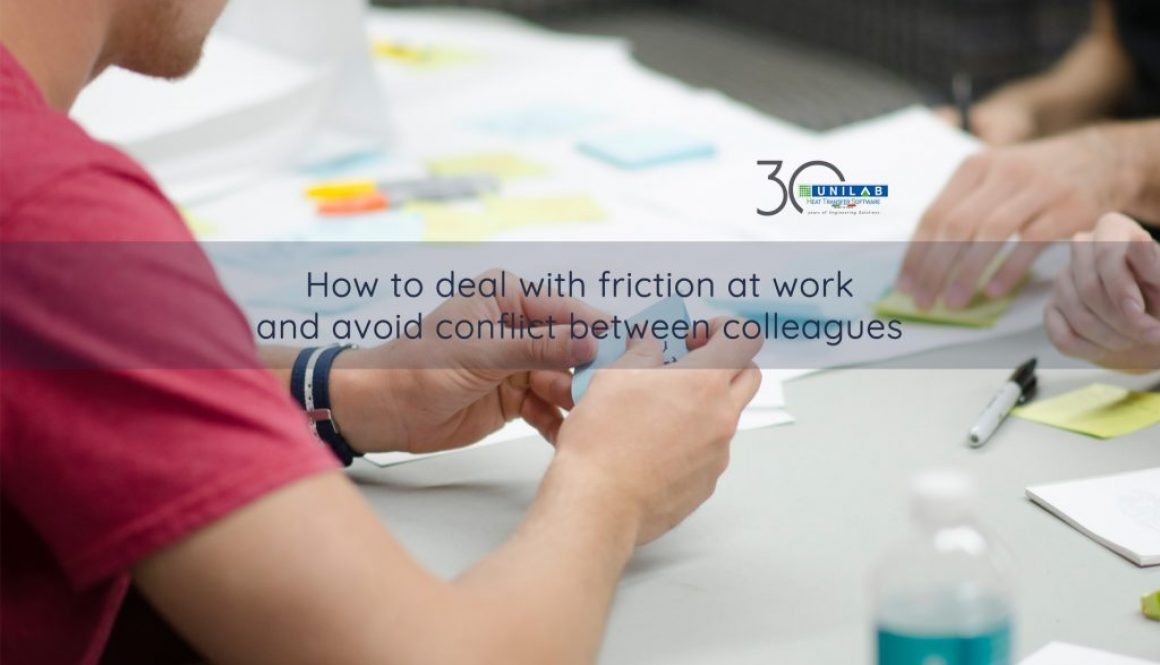 How to avoid conflict between colleagues