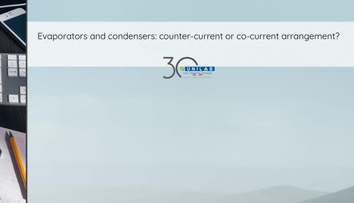 unilab heat transfer blog Evaporators and condensers counter-current or co-current arrangement