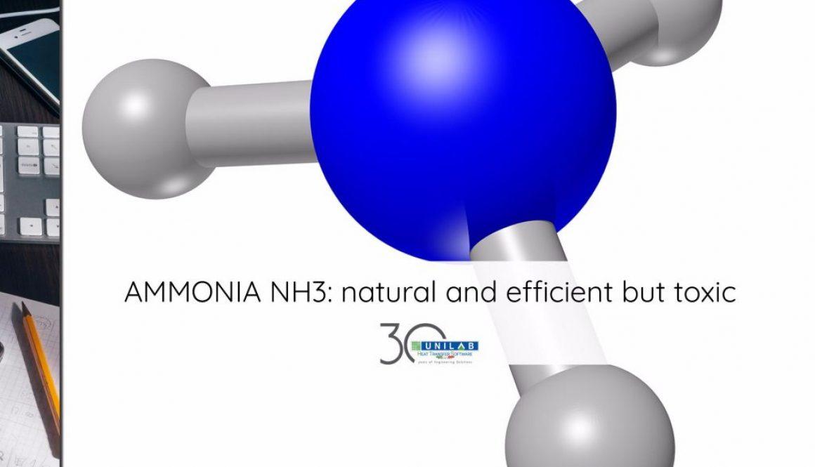 unilab heat transfer software blog ammonia nh3 natural efficient toxic