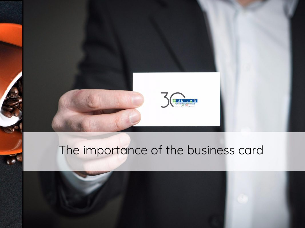 the importance of the business card
