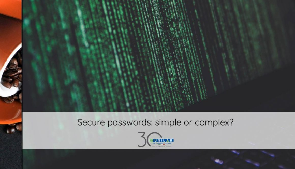 unilab heat transfer software blog secure passwords simple complex