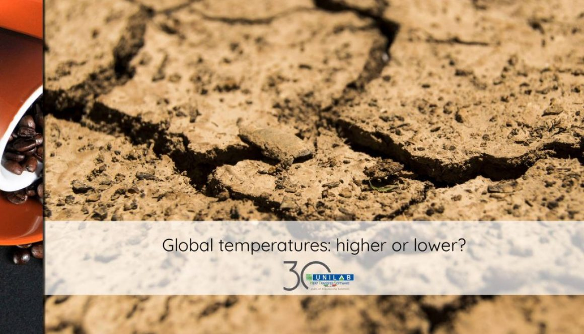 unilab heat transfer software blog global temperatures higher lower