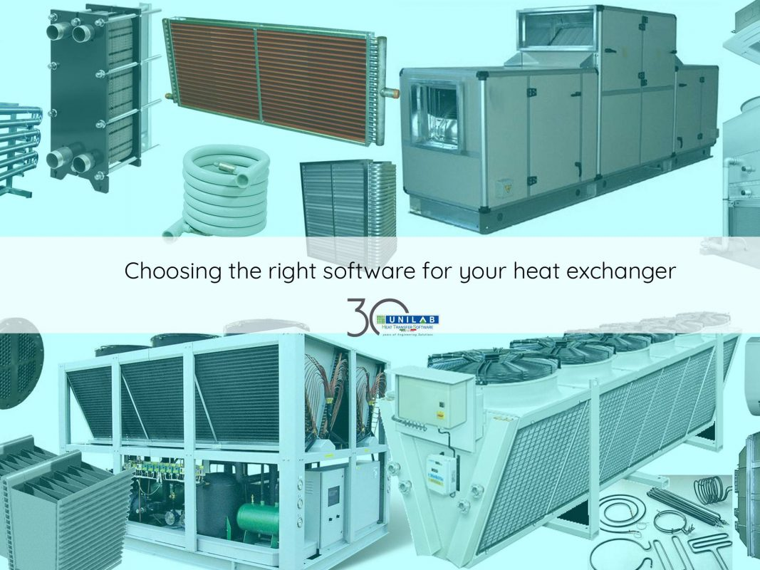 Choosing the right software for your heat exchanger | UNILAB - Heat ...