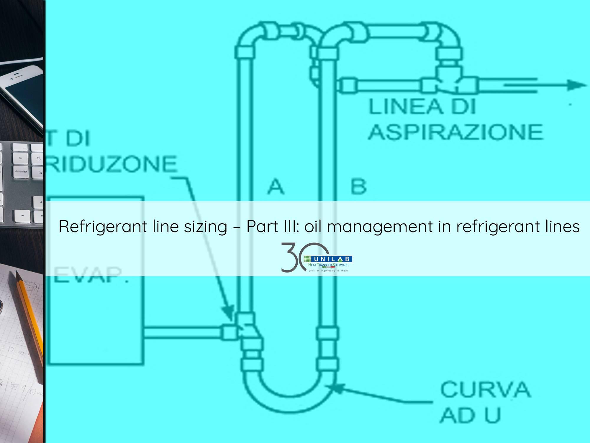 Refrigerant line sizing – Part III: oil management in refrigerant ...