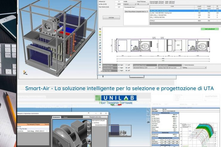 unilab blog software scambio termico Smart Air selezione UTA