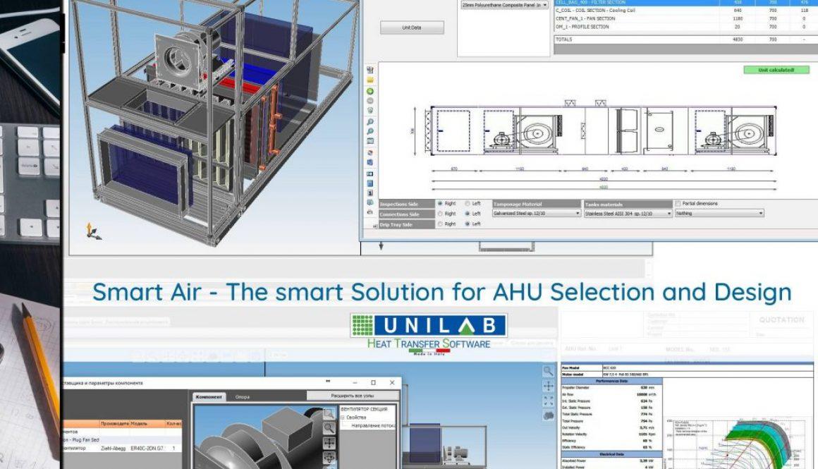 unilab heat transfer software blog Smart Air AHU selection