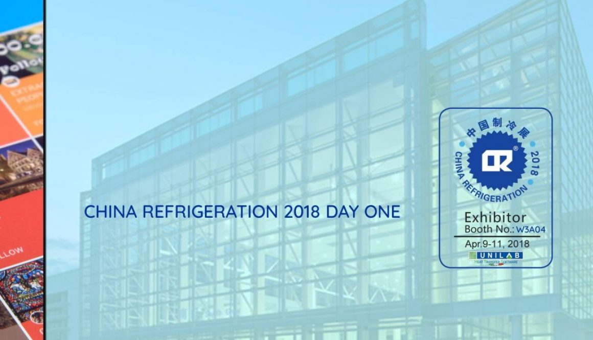 unilab heat transfer software blog china refrigeration 2018 day one
