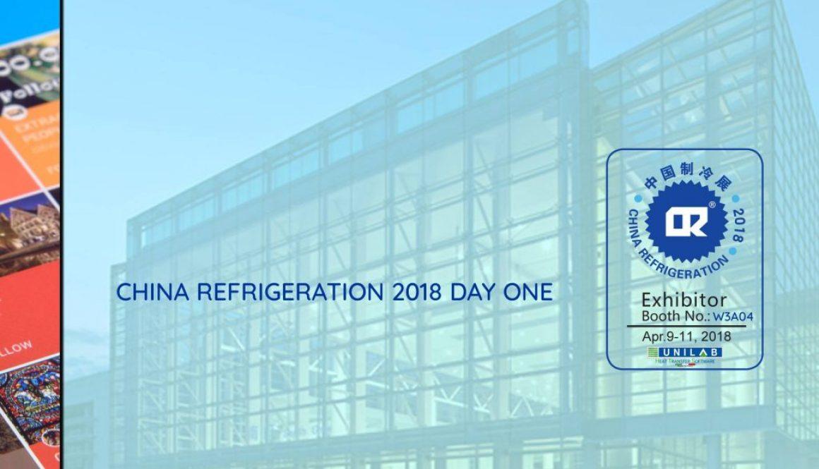 unilab heat transfer software blog china refrigeration 2018 day one