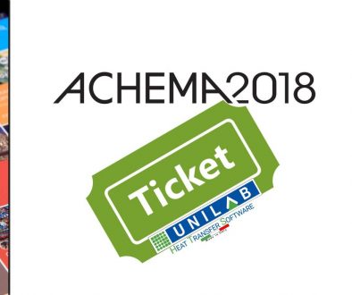 unilab heat transfer software blog achema 2018 ticket