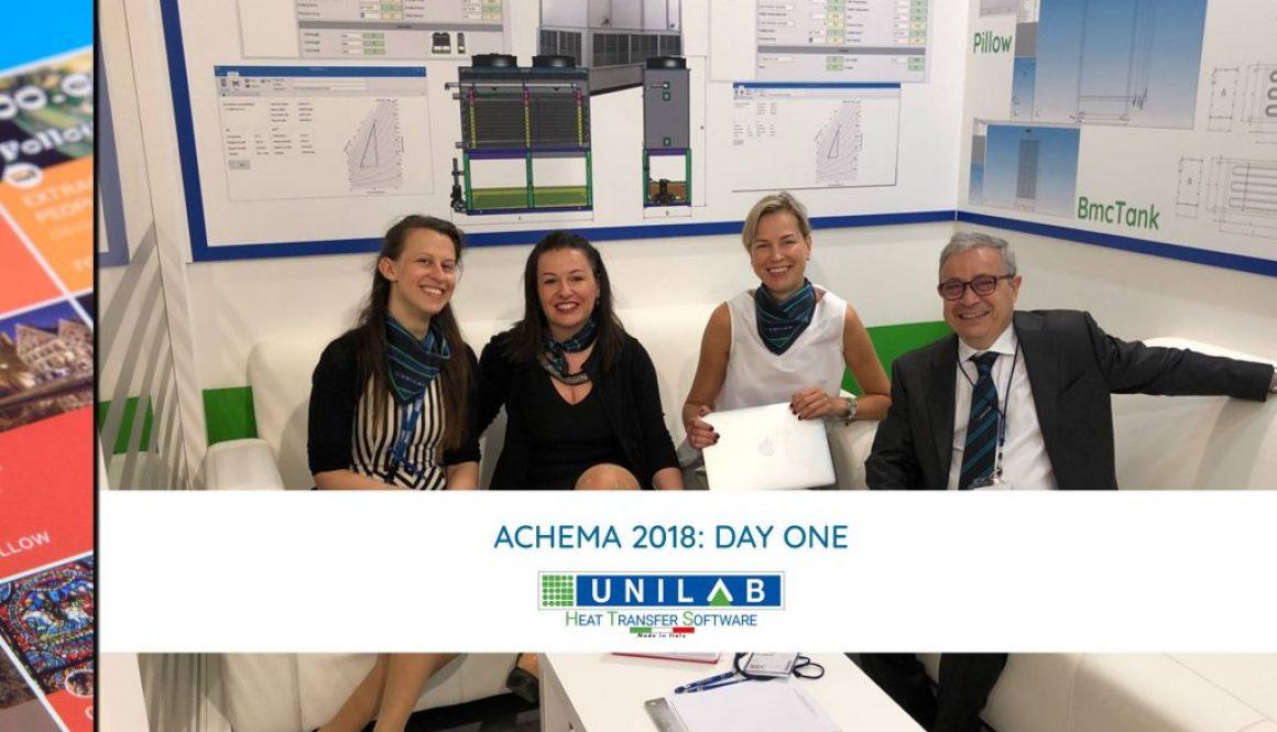 unilab heat transfer software blog achema day one