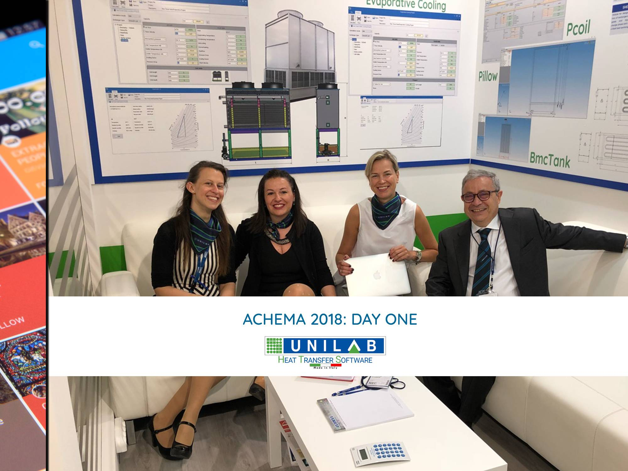 unilab heat transfer software blog achema day one
