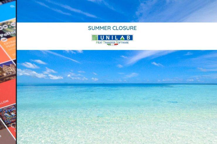 unilab heat transfer software blog summer closure