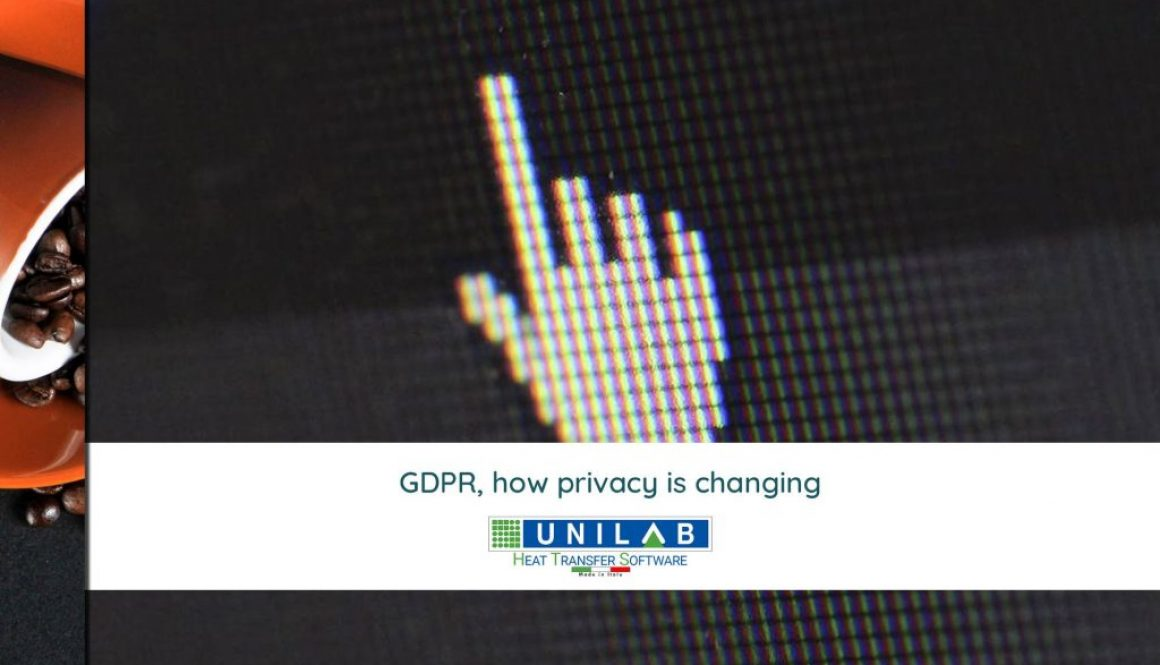 unilab heat transfer software blog GDPR