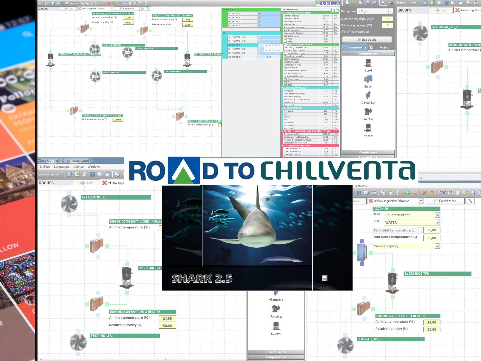 Road To Chillventa 2018 Shark Unilab Heat Transfer Software Circuit Design Suite Screenshot 13