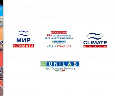 unilab blog software scambio termico climate world 2019