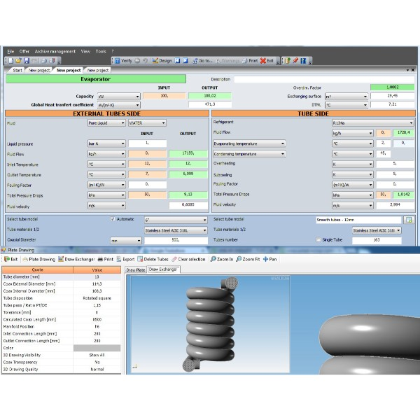 Unilab Unisuite - Shell | UNILAB - Heat Transfer Software
