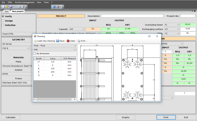 Unilab Unisuite - PHE   UNILAB - Heat Transfer Software