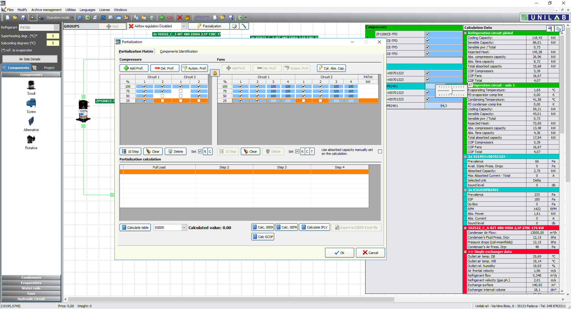 Unilab Shark Heat Transfer Software Circuit Design Suite Screenshot 16 Partialize