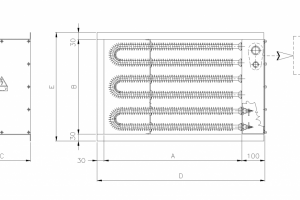 electric finned coils