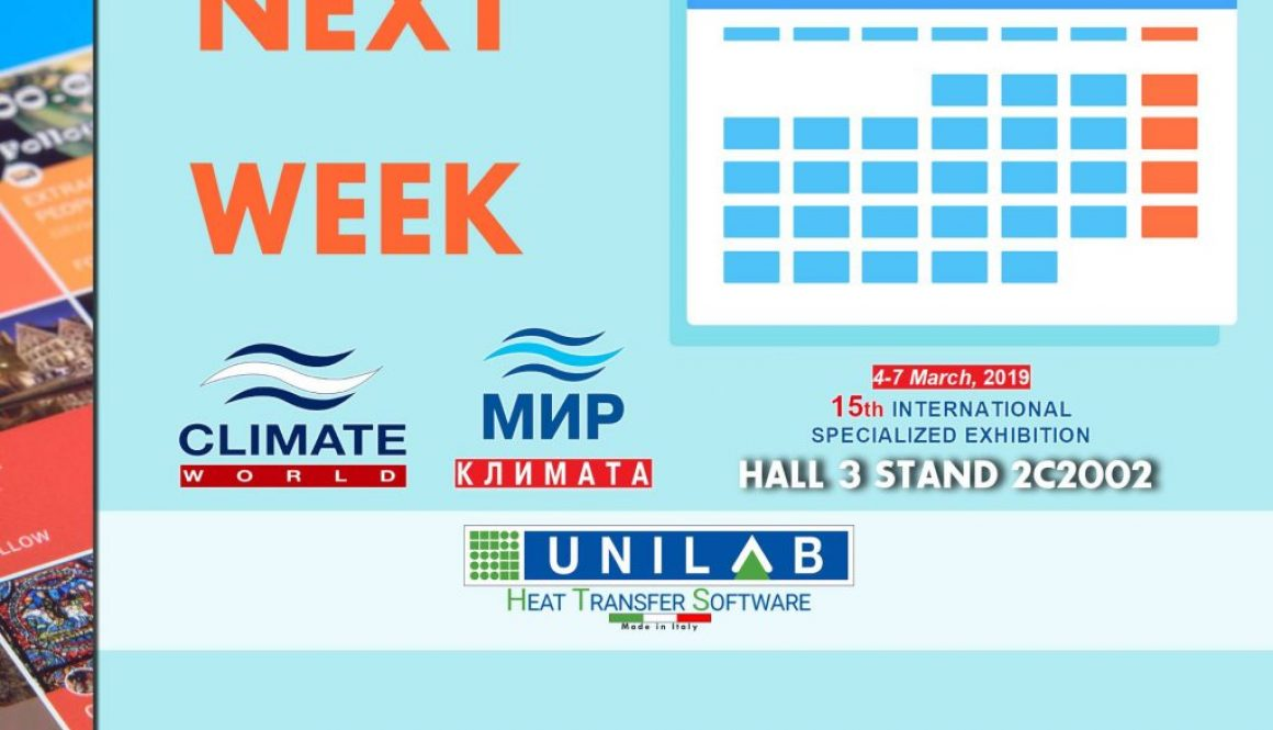 unilab heat transfer software blog CLIMATE WORLD NEXT WEEK