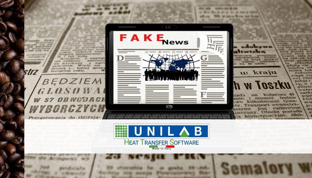 unilab blog software scambio termico fake news